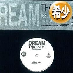 画像1: DREAM / THAT'S OK (2VER) [◎中古レア盤◎お宝!海外高値!日本企画のみ!お蔵入り音源!]
