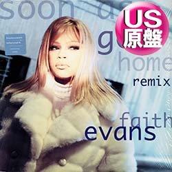 画像1: FAITH EVANS / SOON AS I GET HOME (米原盤/REMIX) [◎中古レア盤◎お宝美品盤!初回ステッカー付原盤!REMIX版!]