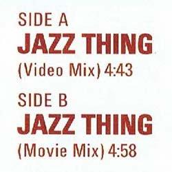 """画像2: GANG STARR / JAZZ THING (7インチ) [■限定■オリジはレア!ジャケ付7""""復刻!JAZZYミドル傑作!]"""
