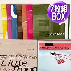 画像1: EVERY LITTLE THING / 7枚組リミックス集 BOXセット (7枚組/全9曲/36VER) [◎中古レア盤◎超お宝!奇跡の新品同様!REMIX集!]