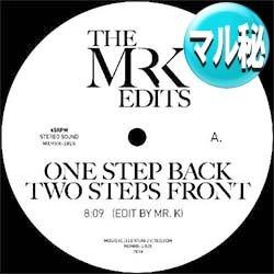画像1: BETTY WRIGHT / ONE STEP UP, TWO STEPS BACK (DANNY.Kエディット) [■限定■MR.K覆面シリーズ最新!名ガラージを料理!]