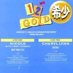 """画像1: NICOLE & CHERYL LYNN / NEW YORK EYES & ENCORE (12""""MIX/全2曲) [◎中古レア盤◎お宝!高音質シリーズ!豪華2曲!]"""