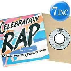 画像1: M.C. MIKER G / CELEBRATION RAP (7インチMIX) [◎中古レア盤◎お宝!西ドイツ版ジャケ!7インチMIX!]