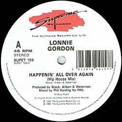 画像3: LONNIE GORDON / HAPPENIN' ALL OVER AGAIN (英原盤/全2曲) [◎中古レア盤◎激レア!超哀愁イタロ!貴重ジャケ!]