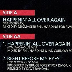 画像2: LONNIE GORDON / HAPPENIN' ALL OVER AGAIN (英原盤/全2曲) [◎中古レア盤◎激レア!超哀愁イタロ!貴重ジャケ!]
