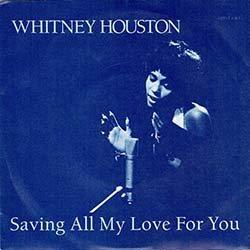 画像2: WHITNEY HOUSTON / すべてをあなたに & ALL AT ONCE (7インチ) [◎中古レア盤◎お宝!美A級品!別ジャケ英国版!両面名バラード!]